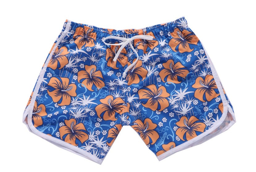 Men's short beach pants casual shorts loose and comfortable