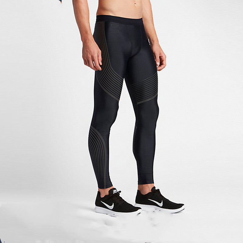 Quick dry running training tights