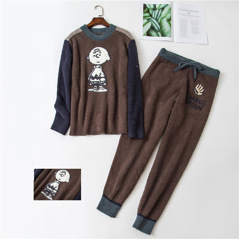 Snoopy long sleeve pants