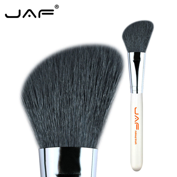 JAF makeup brush Single oblique head blush brush Natural mountain wool Source new product 12GKYA Rouge brush