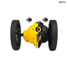 805 RC Bounce Car RC Jump Car Remote Control Stunt Car Watch Control 360° Rotation 27.6 inches Bouncing 2WD 2.4Ghz RC Car Toys