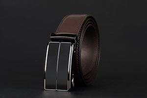 Male pin buckle belt