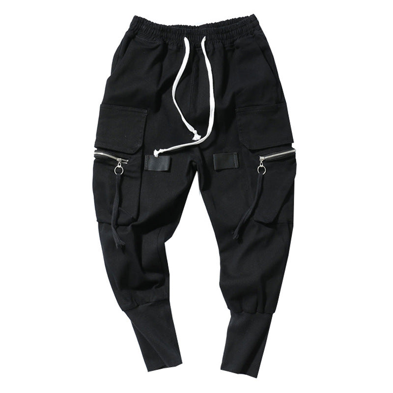 Men's leg breeches of the national fashion overalls