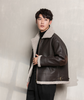 Men's winter Korean cotton padded jacket