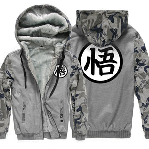 Camouflage cotton coat