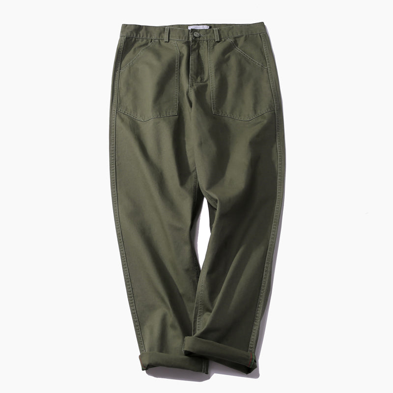 Bf wind pants with wide legs and slacks