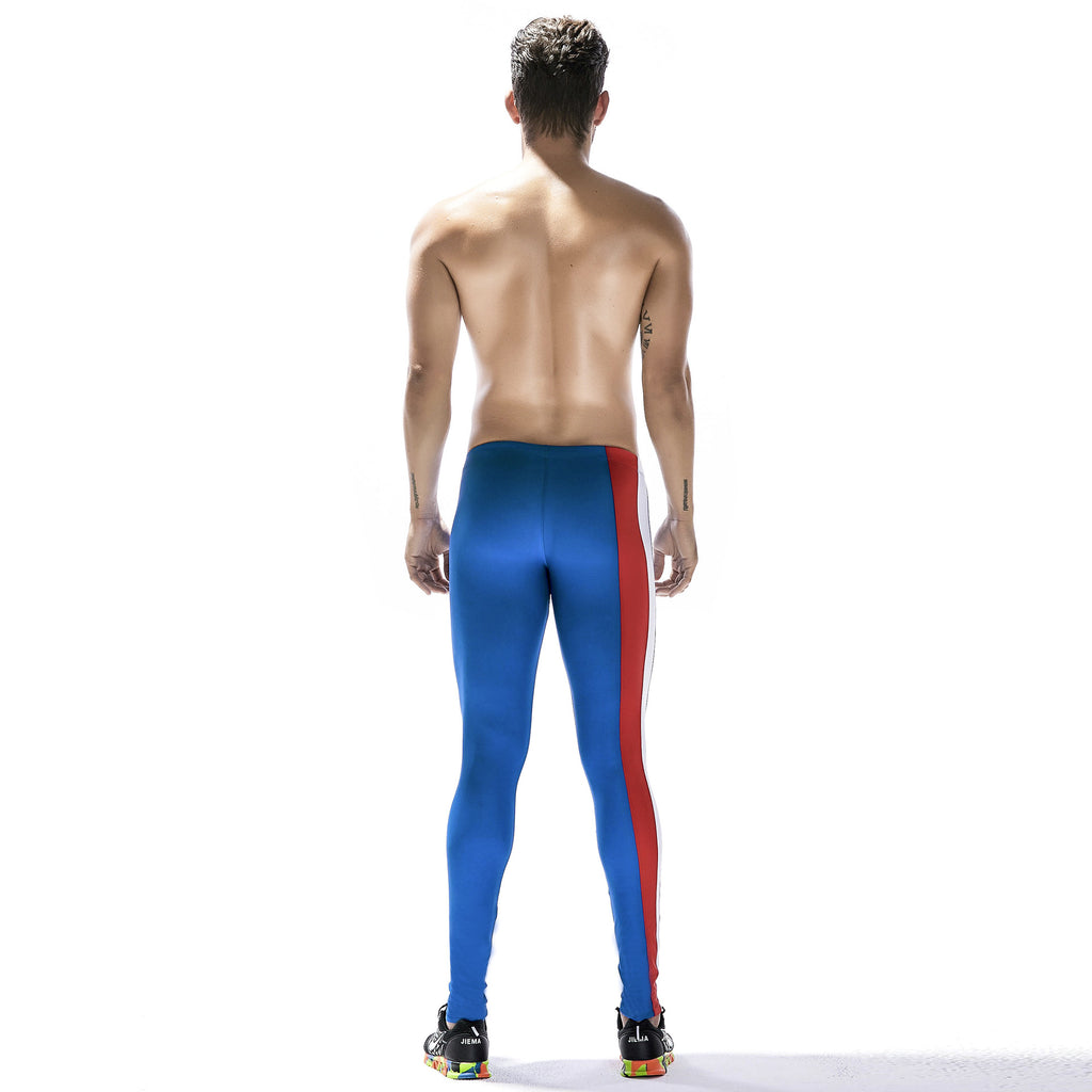 Elastic tight-fitting trousers