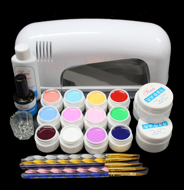 Nail phototherapy set