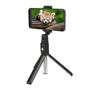 Universal Selfie Artifact Telescopic Selfie Stick bluetooth Remote Tripod Monopod Phone Holder for Android IOS Phones