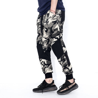 Camouflage loose leggings