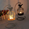 Candle Hanging Stand Iron Craft Lantern Lovers Romantic Candlelight Holder Decor