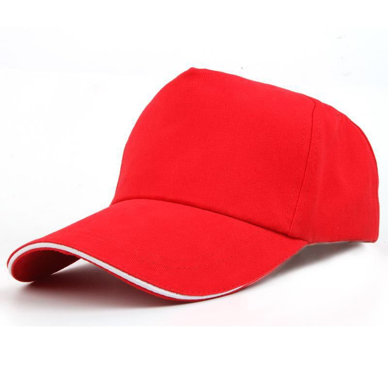 05 pure cotton cap spot custom sun hat tourism advertising hat men and women duck tongue baseball cap custom logo