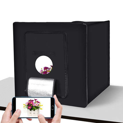 LED studio 60cmLED light box studio suit small LED photo box