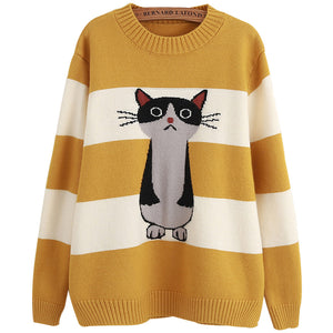 Cute knitted bottoming shirt for autumn and winter