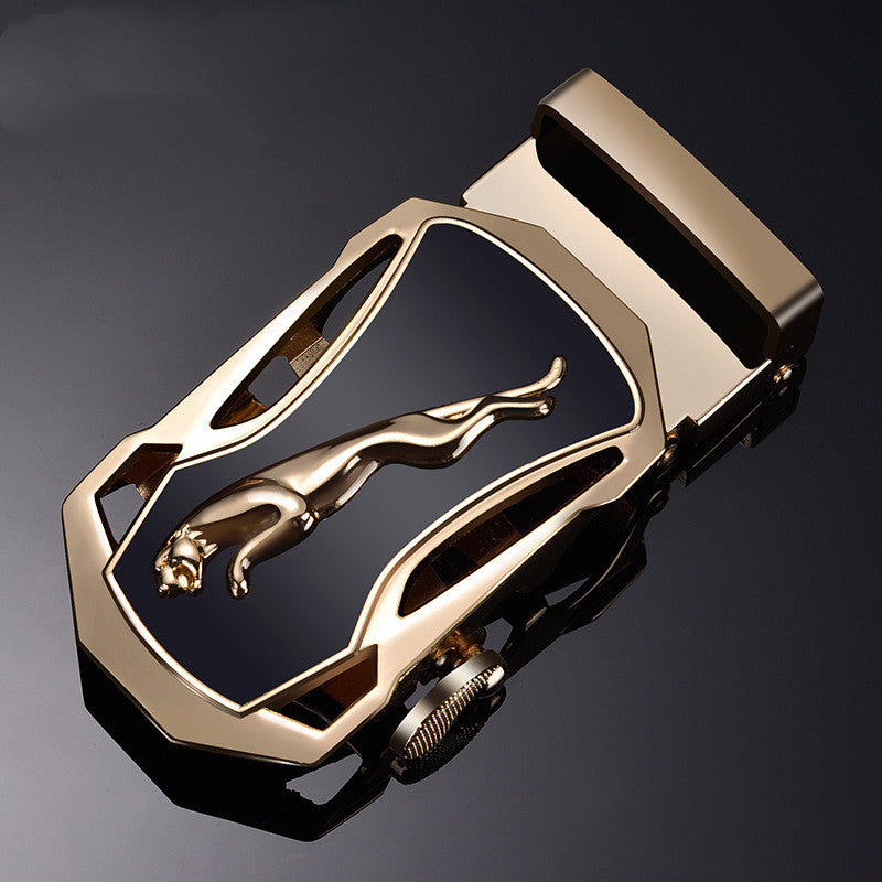 Men's Belt Buckle Head Automatic Buckle Youth Student Trousers Head Belt Buckle