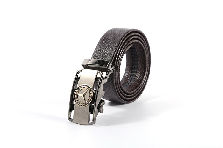 Automatic buckle belt scratch resistant wear belt