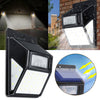 Solar Power 35 LED PIR Motion Sensor Garden Security Light Outdoor Yard Wall Lamp