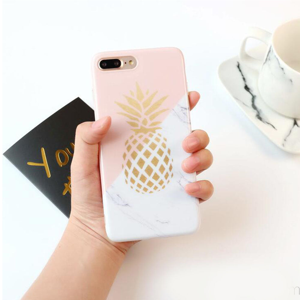 JOJO Flower Leaf Print Case For iPhone (5 styles)