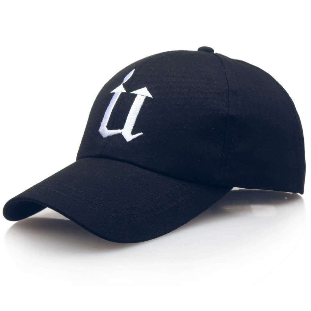 U letter baseball cap men's outdoor
