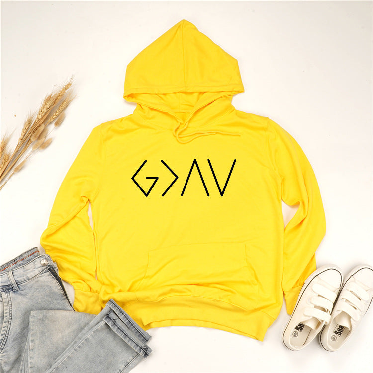 G letter sweater
