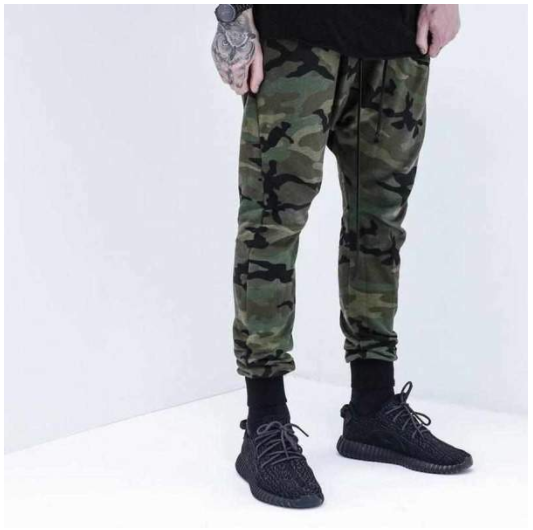 2020 autumn new camouflage sports pants Wei pants feet Harlan pants casual long pants men's clothing