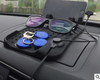 Car navigation bracket Car phone holder Magnetic USB charger Multifunctional silicone mat