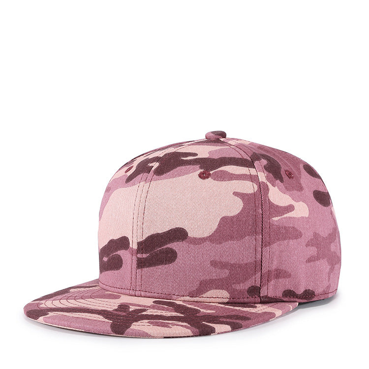 Street male lady camouflage hip hop hat