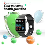 TICWRIS GTS IP68 Waterproof Smart Watch Men Round Screen Heart Rate Blood Pressure Monitoring Smart Watch Women Supplies