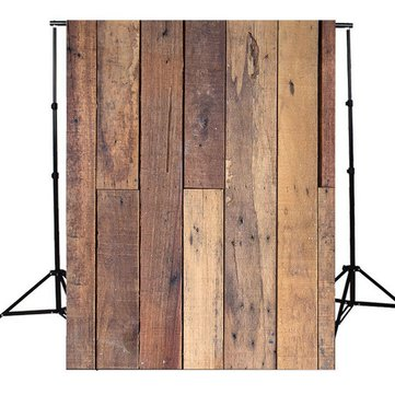 5x7Ft Wood Wall Floor Photography Background Vinyl Backdrop Photograph Studio Prop