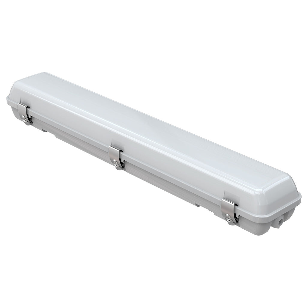 LOD-VT2FT30WNS-50K - LED 2FT VAPOR TIGHT LIGHT, 30W, 5000K, 4281.2LM, 140LM/W, 0-10V DIMMING, AC100-277V, FROSTED COVER, CRI 82.6, UL & DLC LISTED