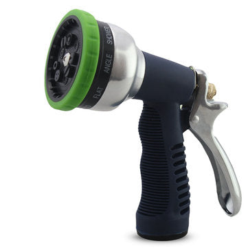 Garden Multifunction 9 Pattern Water Gun Household Watering Nozzle Sprinkler Car Wash Spraying Gun