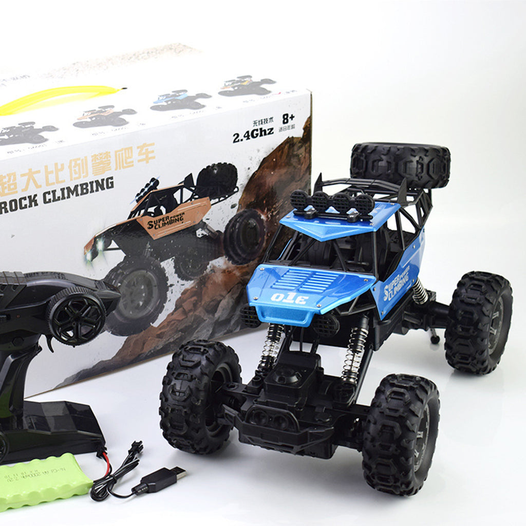 1/10 2.4G 4WD 42CM Alloy Crawler RC Car Big Foot Off-road Vehicle Models W/ Light Double Motor