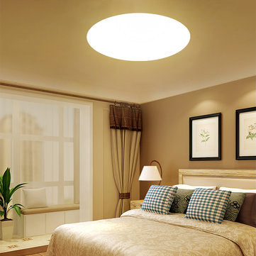 18W 3000L-6500K LED Ceiling Light Fixture Ultra Thin Lamp with Remote Control