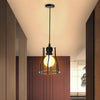 E27 Industrial Pendant Light Shade Metal Wire Cage Retro Ceiling Dining Room Hotel Lampshade
