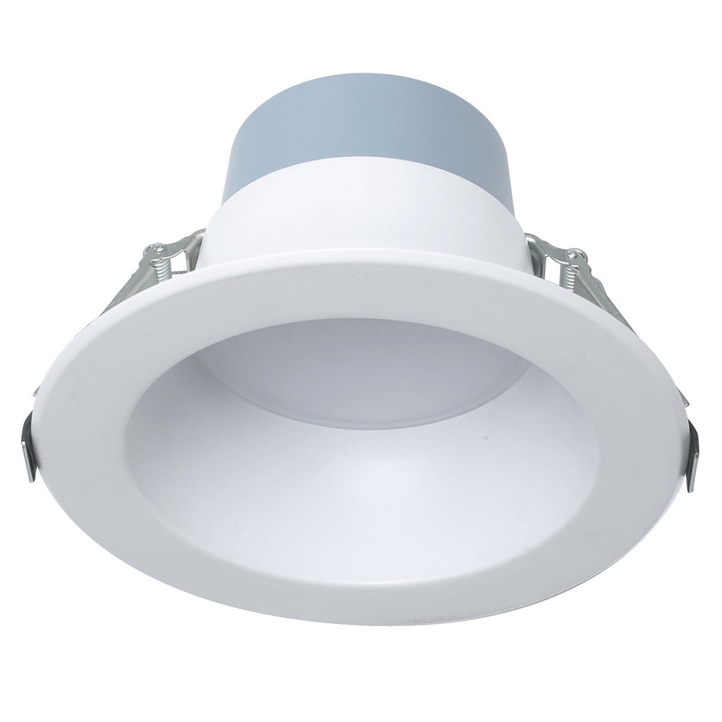 LOC-6DL-MW-MCCT-V2 - LED 6 INCH COMMERCIAL DOWNLIGHT, MULTI-WATTAGE 7W/10W/18W, MULTI-CCT 3000K/3500K/4000K, 0-10V DIMMING, 120-277V, CRI90, UL, ES, AND JA8 LISTED