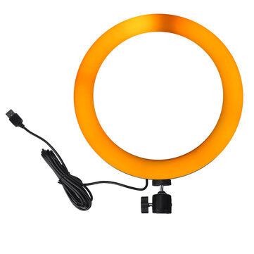 10.3 inch RGBW Full Color LED Ring Light Mackup Fill Light for Photography Selfie Vlog Youtube Live Broadcast Mobile Phone Camera Photo 200 LED Lamp Beads