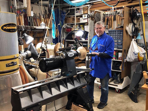 Earl Bartell's Woodturning Shop