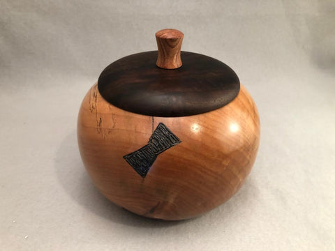 Beads of Courage Lidded Bowl