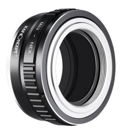 K&F Concept M42 -> Sony E-mount Lens Adapter - Copper Edition