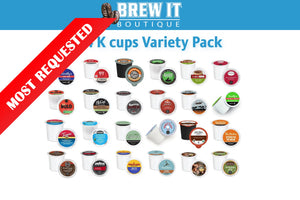 24 K cups of Mild, Med and Bold Decaf Variety Pack