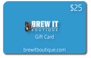Brew It Boutique Gift Card - The Perfect Gift!