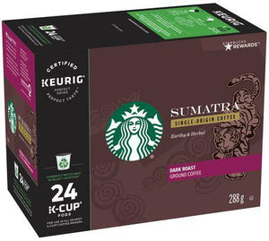 Load image into Gallery viewer, STARBUCKS K CUP Sumatra 24 CT