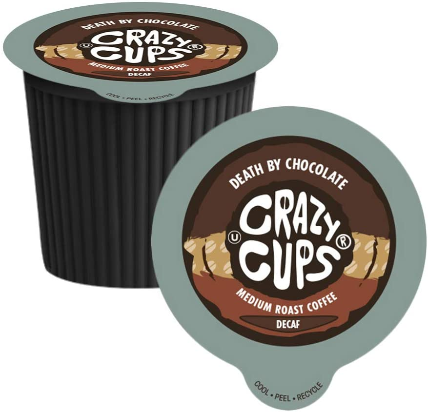 Crazy Cups Decaf - Death by Chocolate 22 CT
