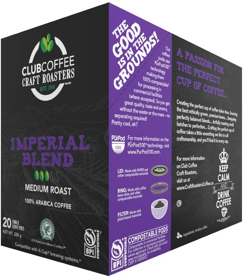 Load image into Gallery viewer, Club Coffee - Imperial Blend 20