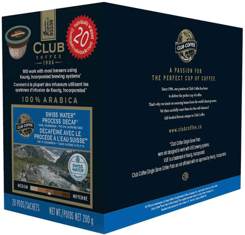Club Coffee K cup