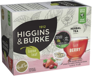 Load image into Gallery viewer, Higgins & Burke RC Loose Leaf Tea Lush Berry 24 CT