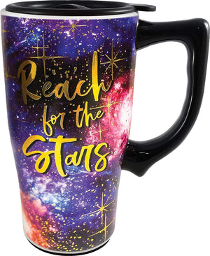 SPOONTIQUES - REACH FOR THE STARS TRAVEL MUG