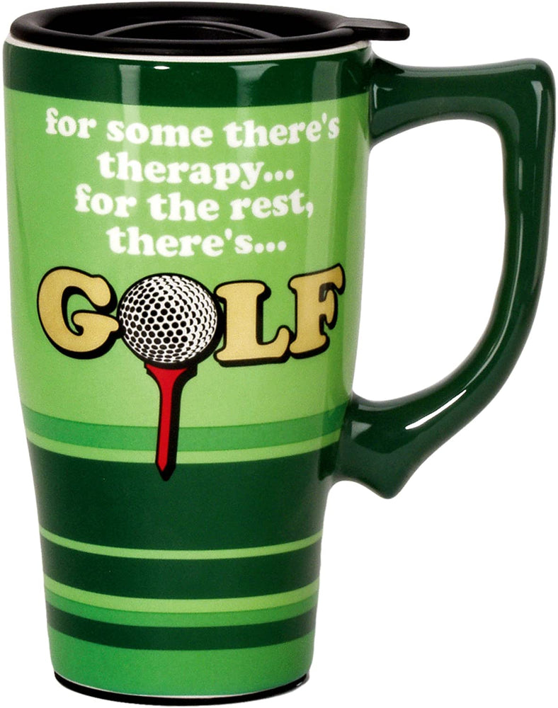 SPOONTIQUES - GOLF TRAVEL MUG