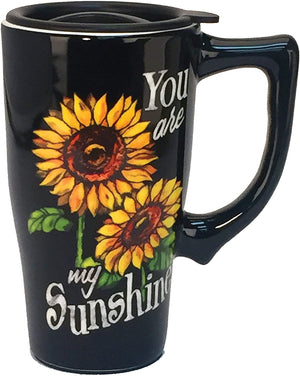 SPOONTIQUES - YOU ARE MY SUNSHINE TRAVEL MUG