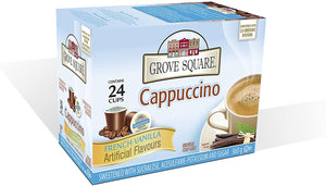 Load image into Gallery viewer, Grove Square French Vanilla Cappuccino 24 CT
